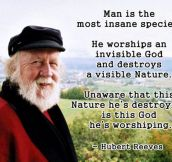 Hubert Reeves On Men, Religion And Nature