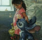 Realistic Lilo And Stitch