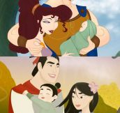 Every Disney Couple Lives Happily Ever After