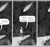 Halley's Comet Sad Story