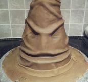 Sorting Hat Birthday Cake