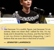 Jennifer Lawrence Talks About Her Photos