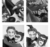 Awesome Joker And Harley Reenactment