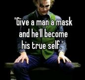 The Joker Was A True Thinker