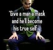 The Joker Was A True Thinker