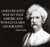 Mark Twain Said It Best