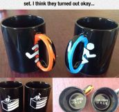 Great Homemade Portal Mugs