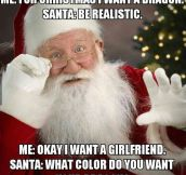 Wishful Present