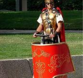 A Modern Gladiator