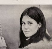 Sigourney Weaver's Yearbook Picture