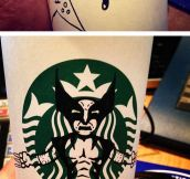 Starbucks Should Pay Him For These Designs