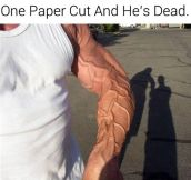All It Takes Is A Paper Cut