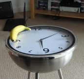 Cool Clock Table