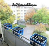 Meanwhile In A German Balcony