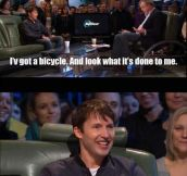Bicycle Instructions By James Blunt