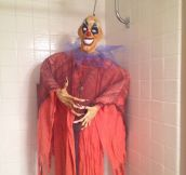 The Bathroom Clown Prank