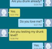 The Drunk Test