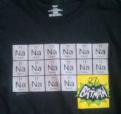Chemistry And Batman