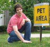 Pet Area Indeed