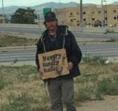 Homeless Signs Are Getting Pretty Clever