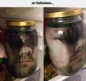 Head In A Jar Decoration