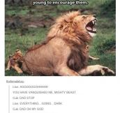 Lions Are Good Fathers