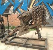 Hard Metal Sculpture