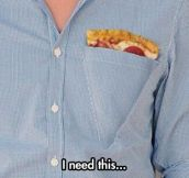 Pizza Pocket Shirt