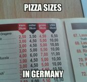 German Pizza