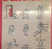 In case of fire, here's what to do…