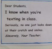 Teachers Know