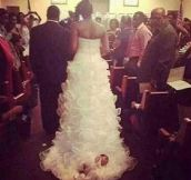 17 Of The Most WTF Wedding Dresses Ever…