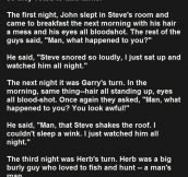 This Man Was Too Scared To Fall Asleep. The Reason Why Is Priceless.