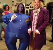 Wonka And Blueberry Girl Costume