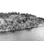 A Camouflaged Swedish Navy Ship, Can You See It?
