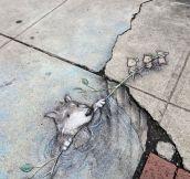 Street Chalk Drawings