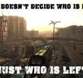 War… War Never Changes