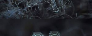Micro-Photography Of Individual Snowflakes