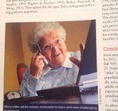 Tech Grandma Is Everywhere