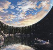 Surrealistic Landscape