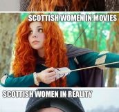 How The World Sees Scottish Women
