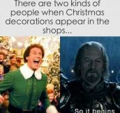 Christmas Decorations Time
