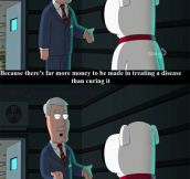 Family Guy Just Blew My Mind