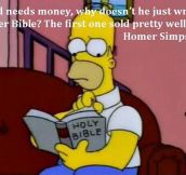 My Hero, Homer Simpson