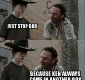 No More Dad Jokes Rick, Please