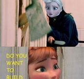 A Scary Version Of Frozen