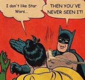 You Can't Lie To Batman