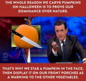The Truth About Pumpkin Carving