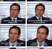 Michael Scott Never Ceases To Amaze Me