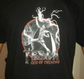 Tesla, God Of Thunder